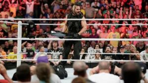 Rollins leaves shield