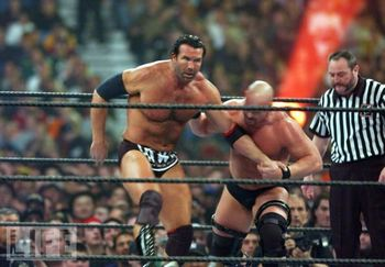 scott hall stone cold wrestlemania 18