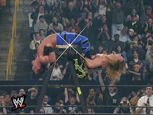 Al's Match of the Week: Benoit vs. Jericho (Ladder Match 2001)