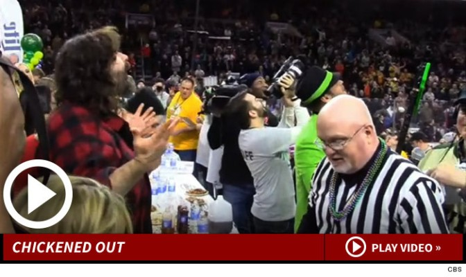 Mick Foley is a Chicken Wing CHEATER!