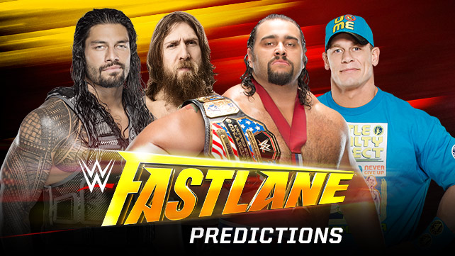 WWE Fast Lane Predictions