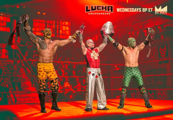 Lucha Underground 4/27/16 Results & Reactions