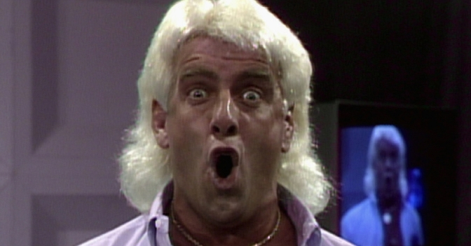 Ric Flair Terminated Podcast Contrast