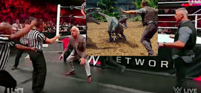5 Best Raw Moments 5/9/16: Ric Flair Is A Velociraptor